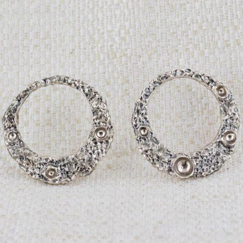 Moon ring Medium Earrings 1