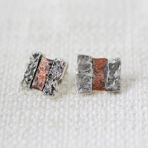Stonehenge Square Earrings 1