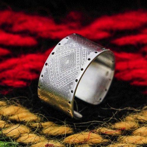 """Anello """"Dui"""" (fascia tappeto intero) Collezione""""Li Trami -Aggius"""" 1"""