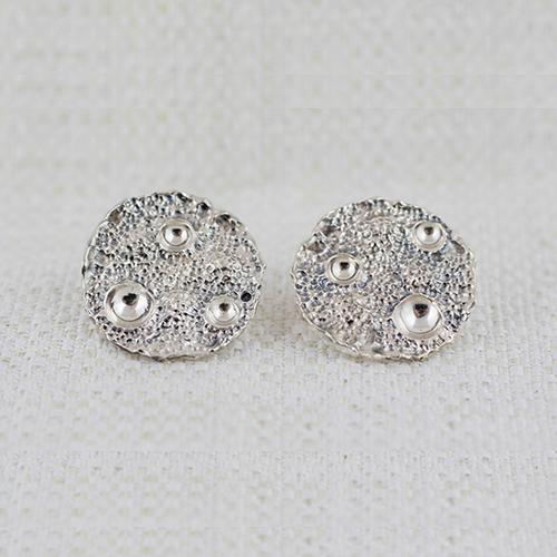 Full Moon Medium Earrings 2